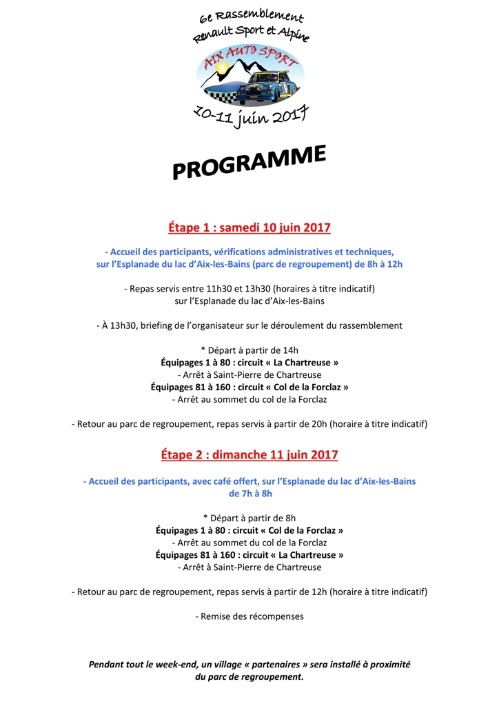 -6e Rassemblement RS et Alpine : 10/11 juin 2017 à Aix- Progra10