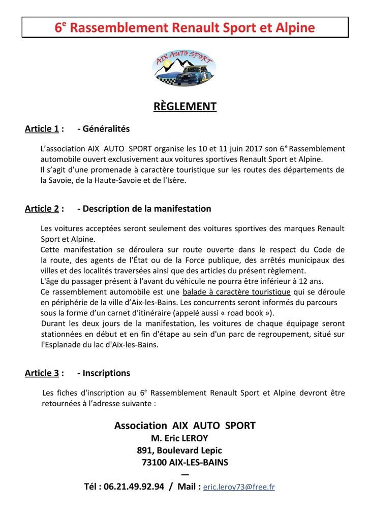 -6e Rassemblement RS et Alpine : 10/11 juin 2017 à Aix- Ryglem10