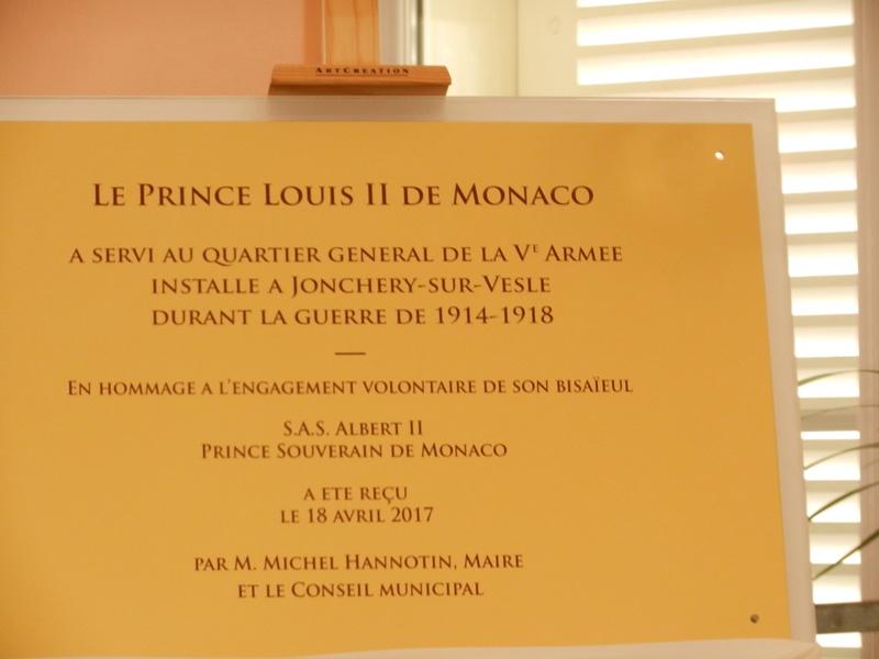 venue du Prince Albert de Monaco à Jonchery Dscn2218