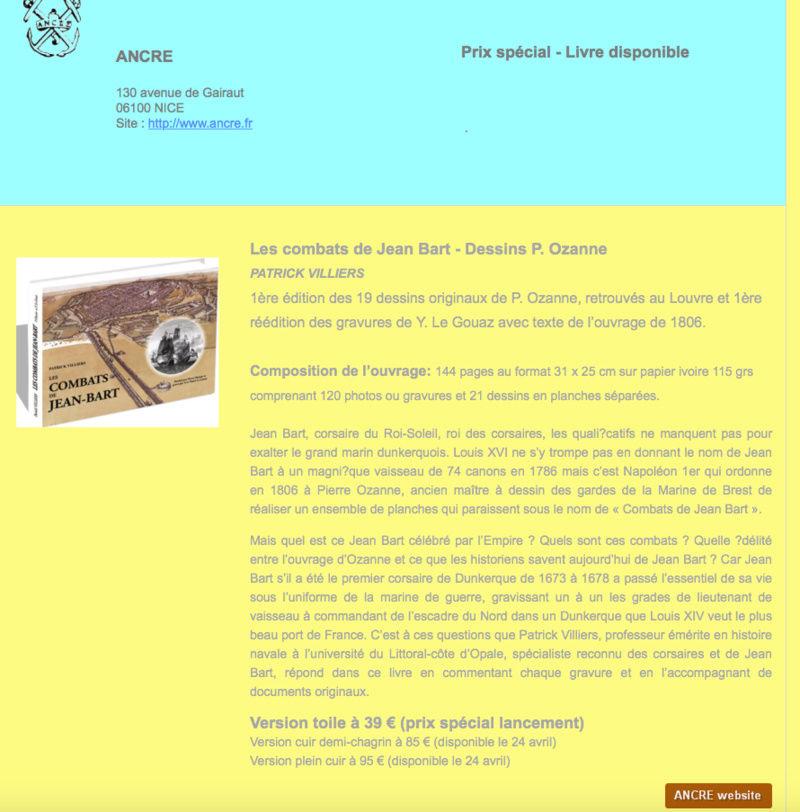 ANCRE : Les Combats de Jean Bart Captur46