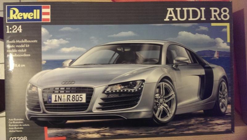 Audi R8 1:24 von Revell Imag2610