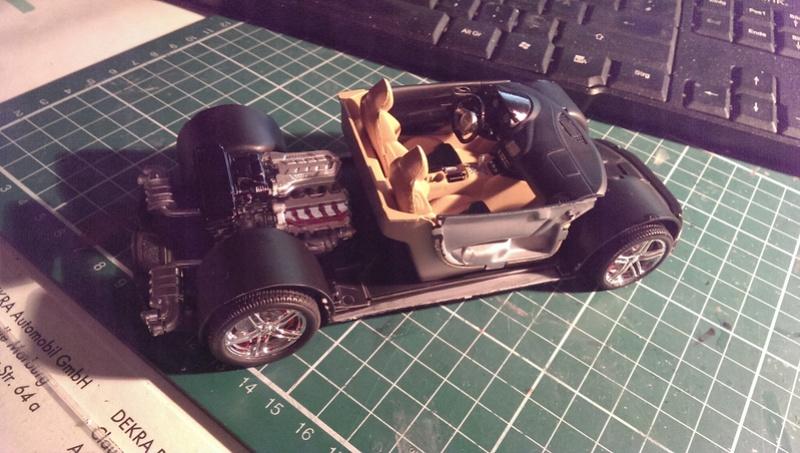 Audi R8 1:24 von Revell Imag2621