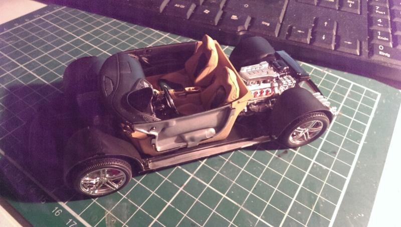 Audi R8 1:24 von Revell Imag2622