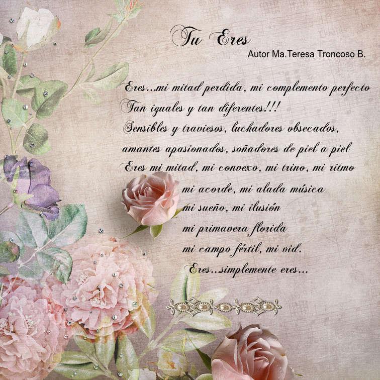 poema Tù Eres Autor Marìa Teresa Lrjhco10