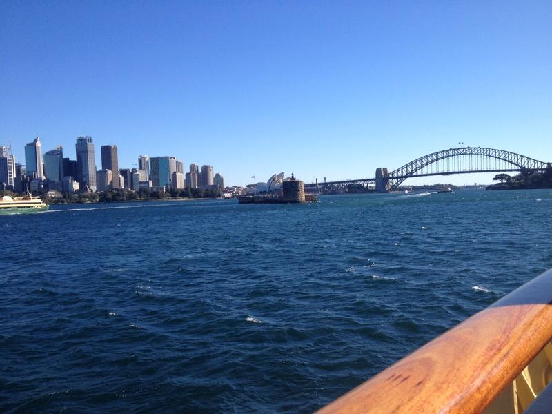 Retour d'Australie Sydney12