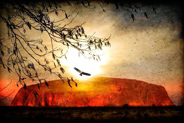 Le Symbole du Labyrinthe Uluru-10
