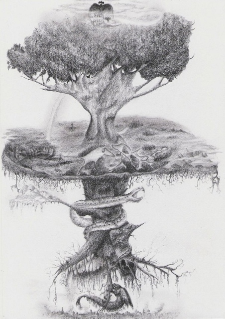 Le Symbole du Labyrinthe Yggdra13