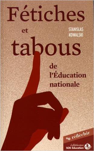 Nouvelle publication de SOS Éducation 51qdxl10