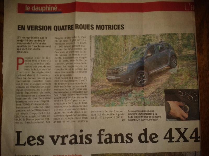 Revue de presse : le Dauphiné  2013-111