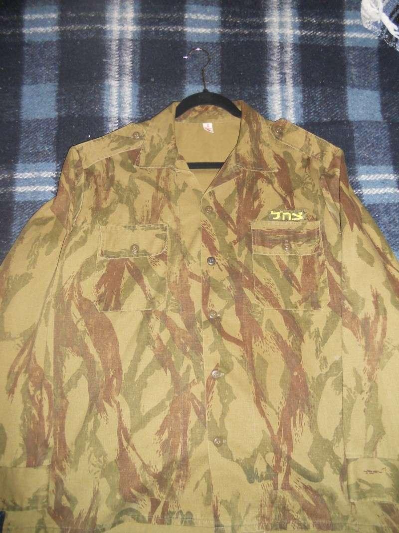 Israeli Camouflage Shirt.....Unusual Pattern Dscn7913
