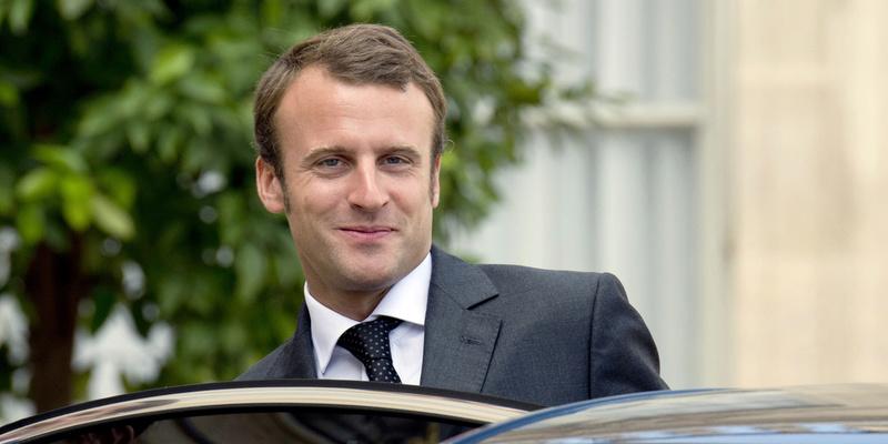 EMMANUEL MACRON PRESIDENT DE LA REPUBLIQUE FRANCAISE Au-new10