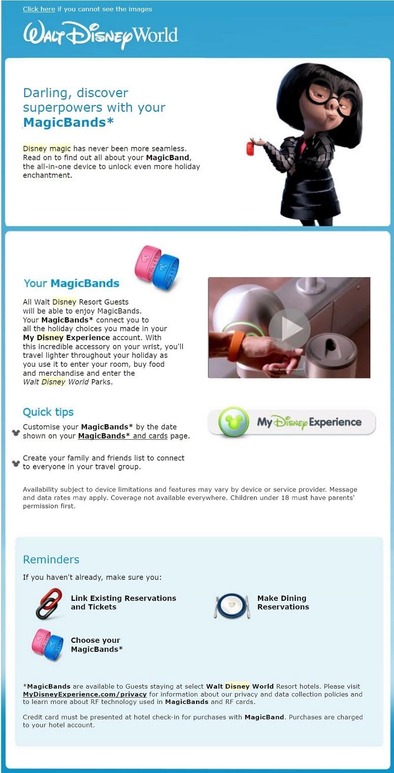 Votre couleur de magicband Mb210