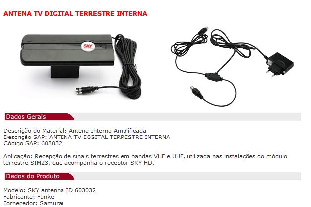 Canal Aberto Digital, sinal digital, na SKY Ant0210