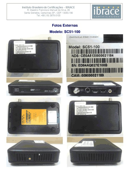 Confira as imagens do novo modelo decodificador da SKY HDTV MINI SC51-100 Screen33