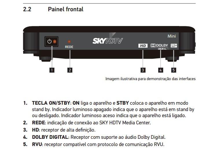 Confira as imagens do novo modelo decodificador da SKY HDTV MINI SC51-100 Screen35