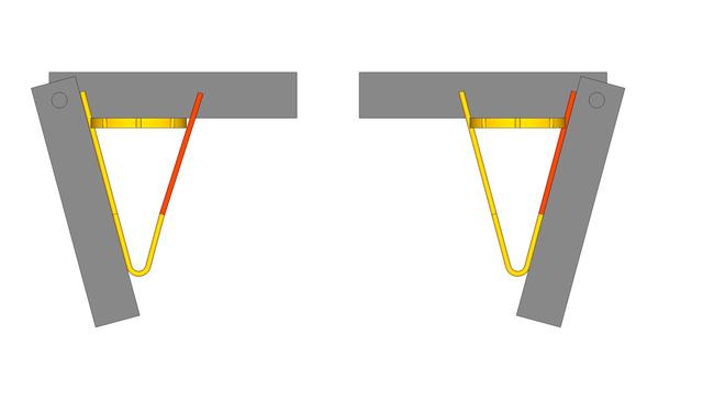 Boucles d'oreille or serti griffes avec des citrines de Daniel Stair Chaton11