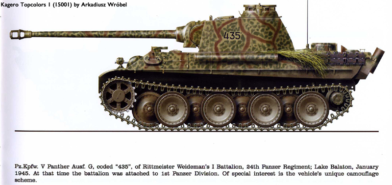 HL Panther G Represents A Tank Made From Oct. 1944 - On Camo310