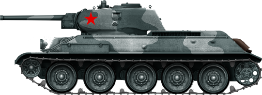 My New HL T-34 / The Suspension mod / Paint / Etc. T34-7610