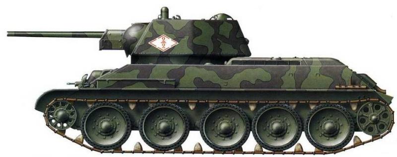My New HL T-34 / The Suspension mod / Paint / Etc. T34110