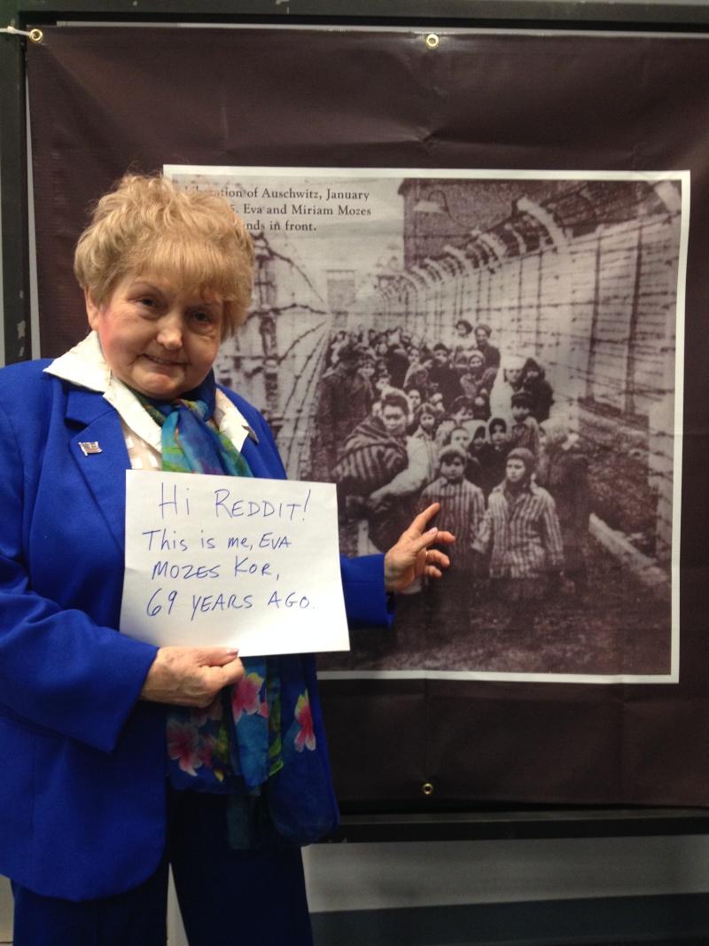 """Holocaust-Überlebende Kor auf Reddit """"Fragen Sie mich nach Auschwitz"""" Cyporw10"""