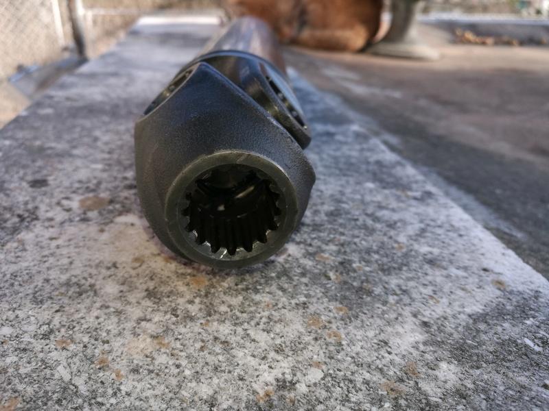 Spline lube after 45 th km Final10