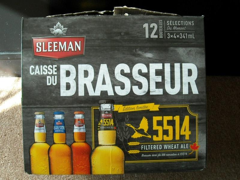 Sleeman 5514 Filtered wheat ale Rscn4416