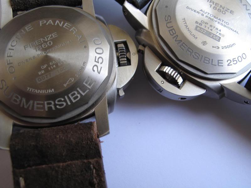 Comparo Pam 194 VS Pam 285 C2710