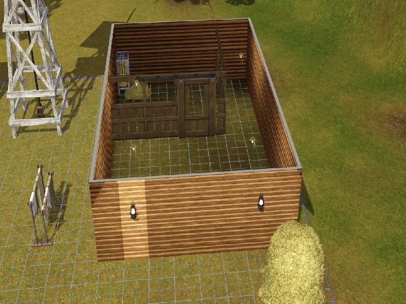 Building a Barn Roof by Honeybear @ BMC 113