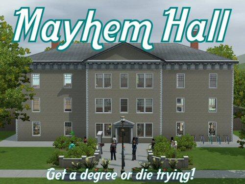 Mayhem Hall by Minty @ Sims Forum 13887710