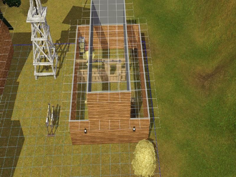 Building a Barn Roof by Honeybear @ BMC 213