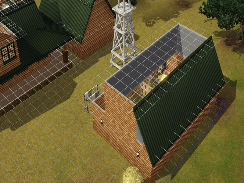 Building a Barn Roof by Honeybear @ BMC 313