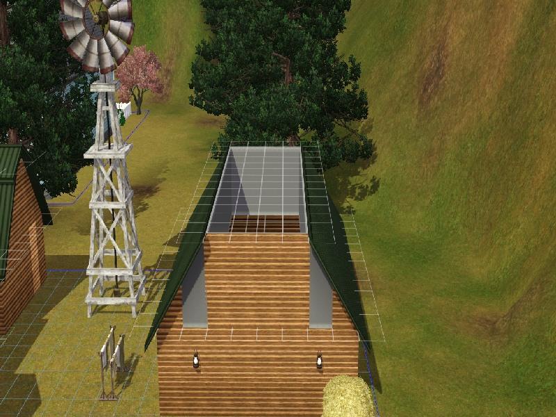 Building a Barn Roof by Honeybear @ BMC 412