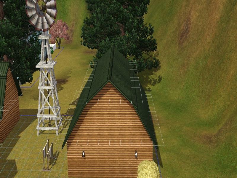 Building a Barn Roof by Honeybear @ BMC 512