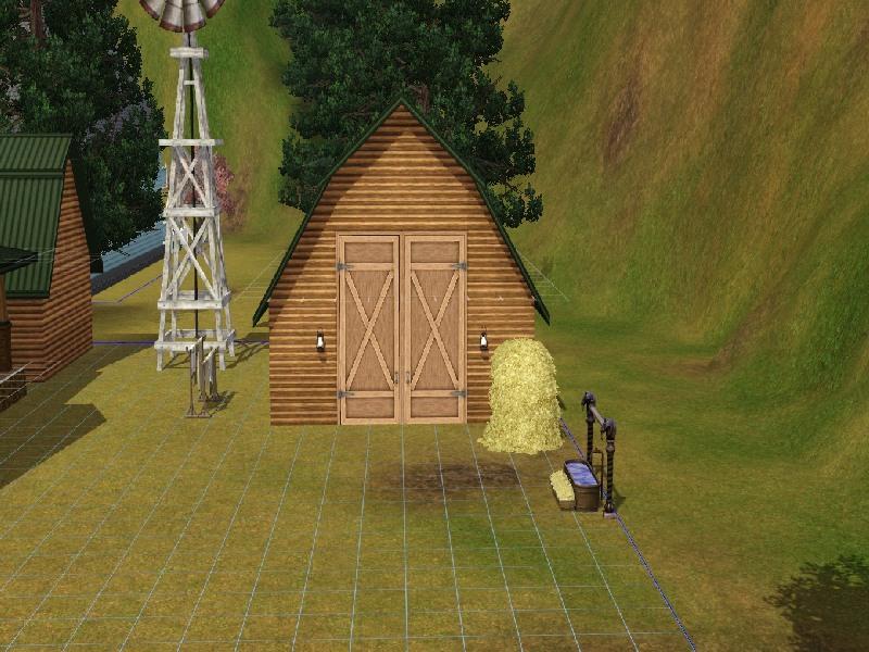 Building a Barn Roof by Honeybear @ BMC 612