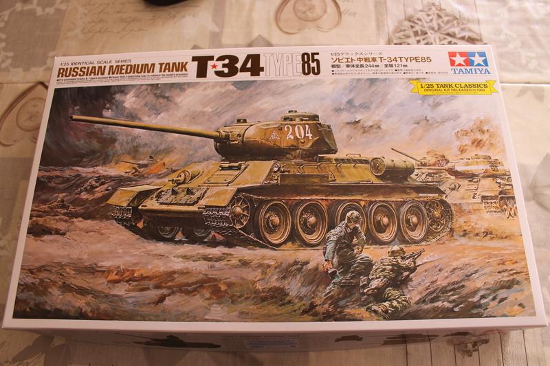 T34/85 Tamiya 1/25 canon métallique Aber  Img_5428