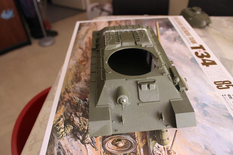 T34/85 Tamiya 1/25 canon métallique Aber  Img_5429