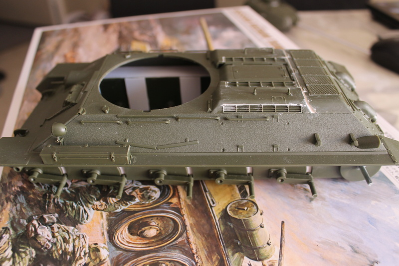 T34/85 Tamiya 1/25 canon métallique Aber  Img_5430
