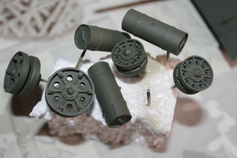 T34/85 Tamiya 1/25 canon métallique Aber  Img_5517