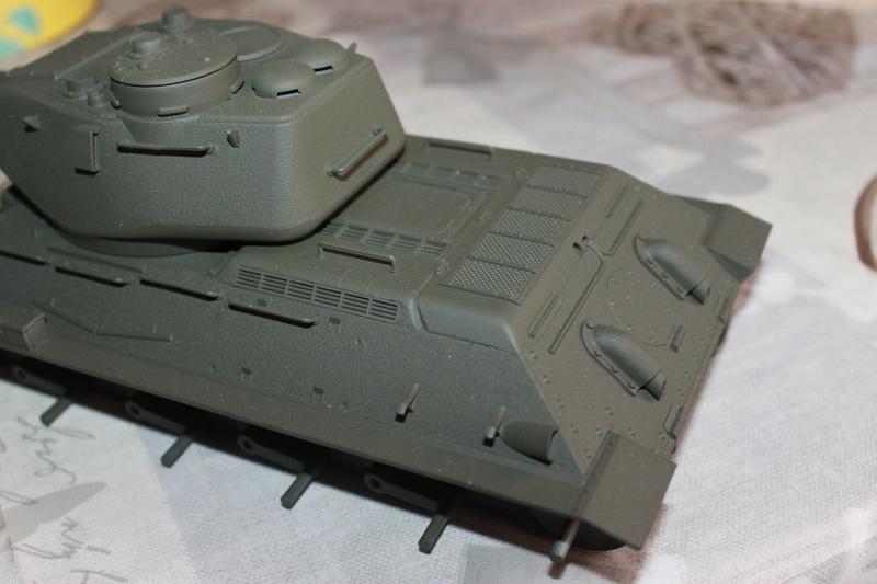 T34/85 Tamiya 1/25 canon métallique Aber  Img_5519