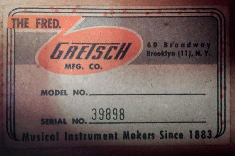 Datations & Numéros de série Gretsc11