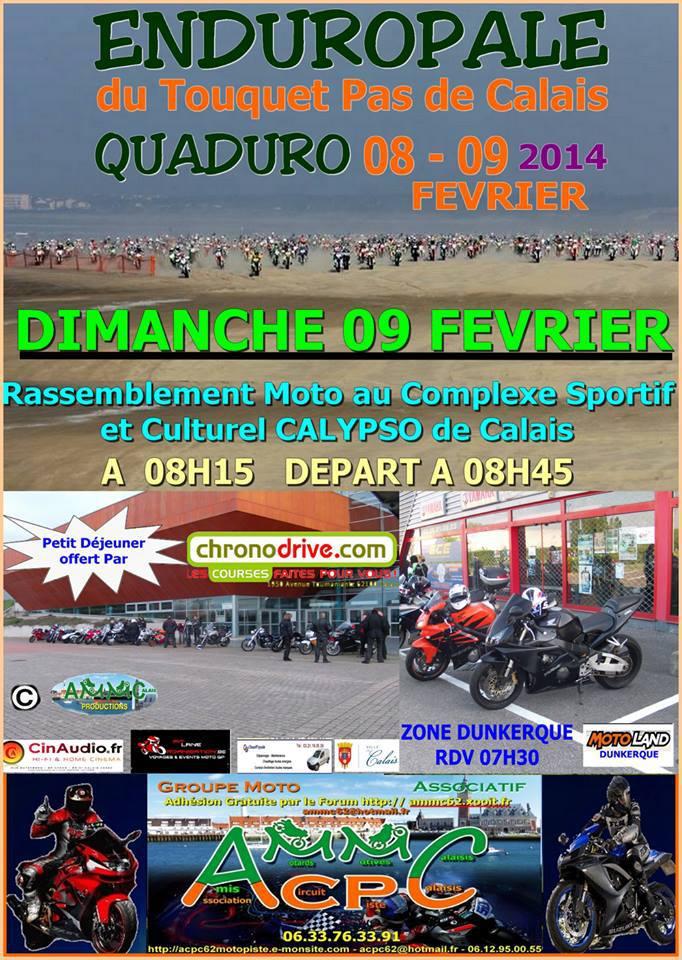 Enduropal Du Touquet 8 et 9 Février 2014 10123110