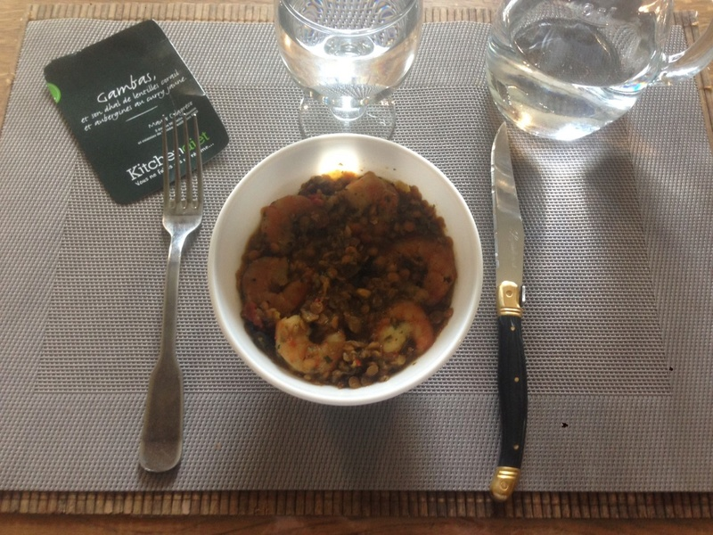 Kitchendiet : box minceur Gambas10