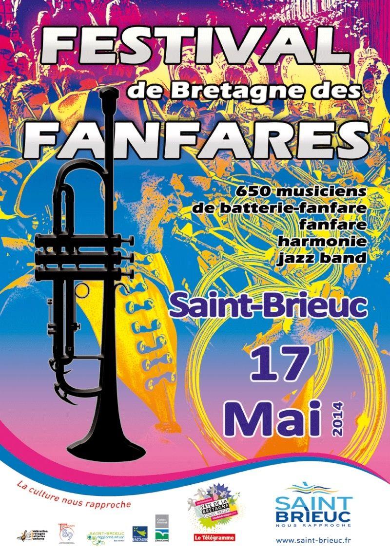34ème festival des Fanfares à Saint Brieuc - 17 mai 2014 Festiv10