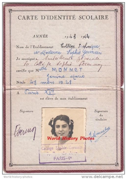 Cartes scolaires 19158510