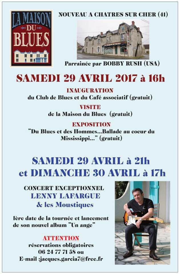 BIENTOT UNE MAISON DU BLUES EN FRANCE 17190410