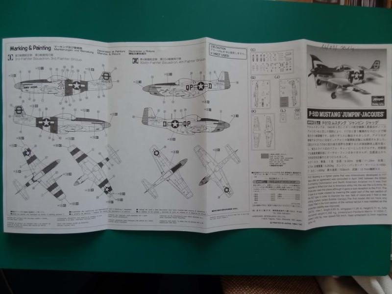 hasegawa P-51D mustang 1/72 TERMINE 001_mu15