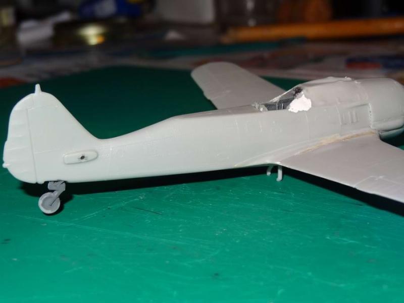 F.W. 190 A8/F3 heller 1/72  FINI 008_fw12