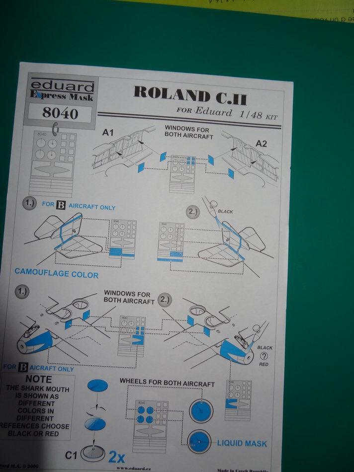 [concours] EDUARD ROLAND C II 1/48ème - Page 3 1_rola15