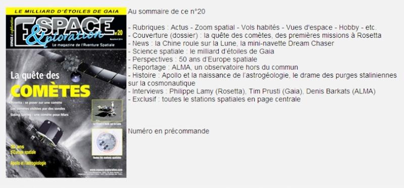 Espace & Exploration n° 20 Ee_2011