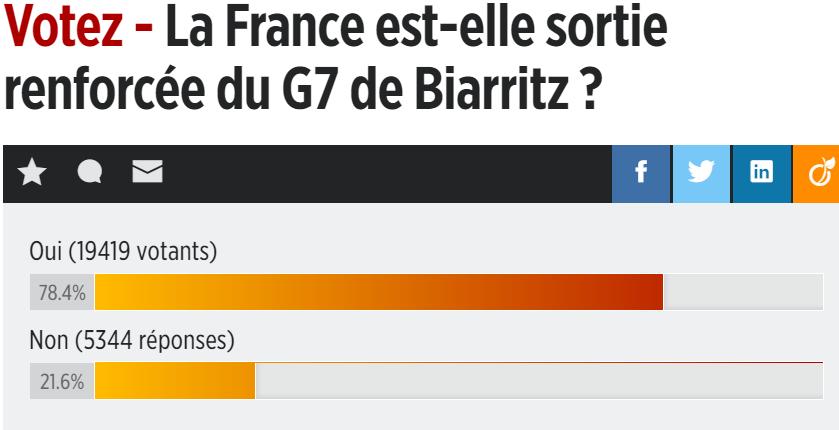 G7: et le gagnant est....Macron Captur15